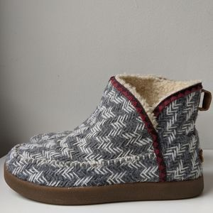 Sanuk nice bootah woolen booties 8